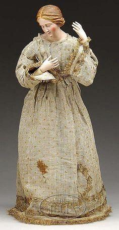 LARGE NEAPOLITAN CRECHE WOMAN. - by James D. Julia