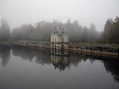 Le Barrage - Les Settons - Morvan - Bourgogne - France