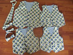 Boys vest pattern.  It's reversible.  Sizing is 18 months to 8.  Sizing is great.