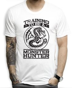 Monster Hunter T Shirts Be all the monster hunter you can be with this awesome shirt.