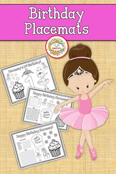 Suprise your little one with custom birthday placemats. Learning Resources, Teacher Resources, Teaching Ideas, Learn To Spell, Learn To Count, Counting Activities, Color Activities, Number Posters, Word Bingo