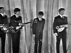 """▶ The Beatles Live doing Royal Show 1963 - YouTube - YouTube  MC:  The performance where John famously said """"Those of you in the cheaper seats, clap...""""."""