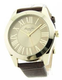 Kenneth Cole New York Croco Leather Champagne Dial Women's watch #KC2678 Kenneth Cole. $56.49