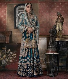 Sensational Wedding Dresses By The New Trendsetters: Rimple and Harpreet Narula Latest Bridal Dresses, Popular Wedding Dresses, Muslim Wedding Dresses, Indian Bridal Outfits, Indian Bridal Fashion, Indian Fashion Dresses, Muslim Brides, Wedding Hijab, Muslim Couples