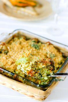 Art Fresh Broccoli Casserole recipes-i-would-like-to-try Broccoli Recipes, Vegetable Recipes, Vegetarian Recipes, Cooking Recipes, Broccoli Salads, Califlower Recipes, Broccoli Stems, Oven Recipes, Healthy Recipes