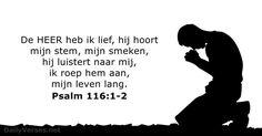 Psalmen 116:1-2 - dailyverses.net