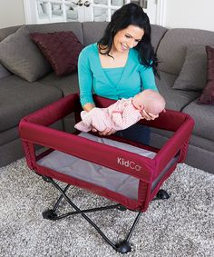 Look what I found on #zulily! Cranberry DreamPod Travel Bassinet #zulilyfinds