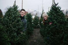 Christmas card photo inspiration // Anniversary shoot by Jamison Elizabeth Photography