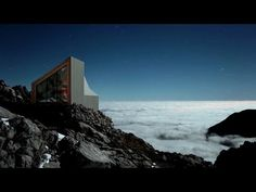 Movie: Alpine Shelter by OFIS and Harvard students airlifted onto Sloven...