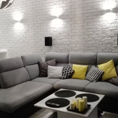 Find attractive brick slips, brick cladding and brick veneers from Decostones. Dress up your walls for an aesthetically pleasing finish. Brick Cladding, Slip On, Exterior, Couch, Living Room, Wall, Kitchens, Furniture, Home Decor