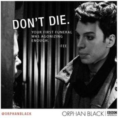 """Orphan Black - """"Don't die"""""""