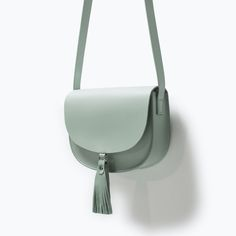 LEATHER MESSENGER BAG WITH TASSELS-Woman-NEW THIS WEEK | ZARA United States