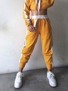 The tracker pants sport outfits, dance outfits, chic outfits, fashion outfits, pants Casual Outfits For Teens, Teen Fashion Outfits, Sporty Outfits, Stylish Outfits, Summer Outfits, Girl Outfits, Casual Wear, Men's Fashion, Fashion Pants