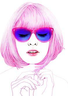 by BryJin (Fashion photographer Bryant Eslava + illustrator Hajin Bae) on Tumblr