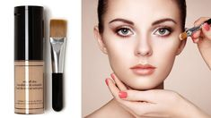How To Apply Foundation And Concealer For Beginners Perfect Face Makeup Tutorial Step By How To Apply Concealer, How To Apply Foundation, Make Up Tutorials, Everyday Makeup Tutorials, Makeup Tutorial Foundation, Makeup Foundation, Foundation Application, Maybelline, Hair Care Tips
