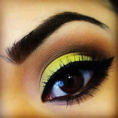 #beauty #makeup #eyes without the yellow eye shadow though