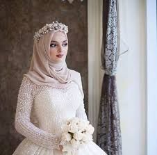Image result for hijab with flower crown