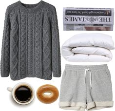 """""""GOOD MORNING AMERICA"""" by sweetnovember19 ❤ liked on Polyvore"""