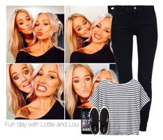 """""""Fun day with Lottie and Lou"""" by liamhusbandx ❤ liked on Polyvore featuring STELLA McCARTNEY, Athleta, Henri Bendel, louteasdale and LottieTomlinson"""