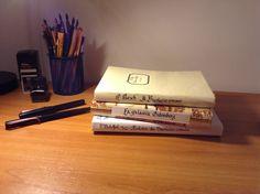 Handmade covered books