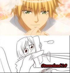 Hahaha it's me when I see Usui》Kaichou wa Maid-sama《 Me Anime, Hot Anime Guys, I Love Anime, Otaku Anime, Manga Anime, Misaki, Usui, Gekkan Shoujo, Kaichou Wa Maid Sama