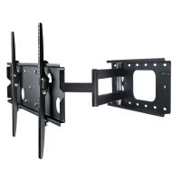Black Friday Deal Mount-It! Single Arm Extra Extension Swiveling Tilting Articulating Full Motion Cantilever Wall Mount Bracket for Plasma LCD LED TVs with FREE HDMI Cable inch - 70 inch) from Mount-It! Swivel Tv Wall Mount, Swivel Tv Stand, Wall Mounted Tv, Tv Bracket, Wall Mount Bracket, Tv Accessories, Electronic Deals, Plasma Tv, Plates On Wall