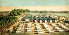 Mt. Pleasant hospitals during the Civil War