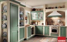 Cucine in muratura - Cucina verde salvia | Kitchens I love ...