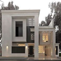 Top 30 Modern House Design Ideas For 2020 - Engineering Discoveries Bungalow Haus Design, Duplex House Design, House Front Design, Small House Design, Cool House Designs, Modern House Design, Villa Design, Modern House Facades, Modern House Plans
