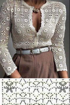 Zhurnal Mod, Knitting, Lace, Clothes, Women, Fashion, Crochet Coat, Templates, Crocheting