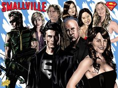 smallville collage - Google Search