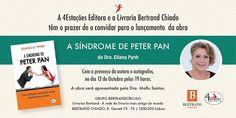 """Celtic Woods: Convite: Lançamento do livro """"A Síndrome de Peter ..."""