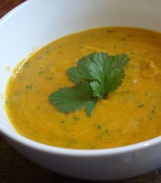 This Carrot and Coriander Soup is great for warming you up on a cold day. Packed with great flavours this is a great hit!!