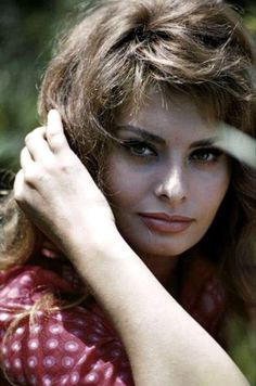 Sophia Loren, by photographer Willy Rizzo.
