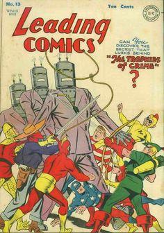 COMIC leading comics 13 #comic #cover #art