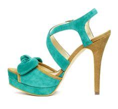 #bow heel #shoe