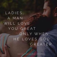 Start your Relationship this way... Not just a Christian Guy....... A GODLY MAN!!!!!
