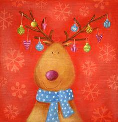 Ileana Oakley - christmas reindeer snowflakes.jpg