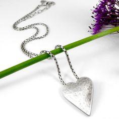Danon Jewellery - Danon Silver Heart Shaped Pendant Short Necklace from Lizzielane.com was £65 Now £58.50 http://www.lizzielane.com/product/danon-silver-heart-shaped-pendant-short-necklace/