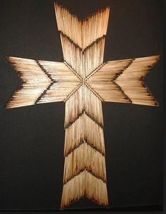 DIY Matches Cross » Gallery of Crosses