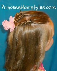Spring Rings or Hair Coils from Princess Hairstyles
