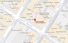Google Maps ahora muestra donde se encuentra la residencia Sanctum Sanctorum del Dr Extraño