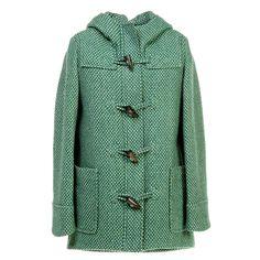 Lotsa Dots Duffle Coat Glade