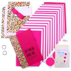 My Mom and Me Mother daughter journal, Berry Pink