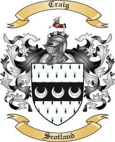 craig coat of arms scotland