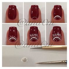 I need to get me one of those tiny brushes! Nail Art Diy, Easy Nail Art, Diy Nails, Hand Jewelry, Nail File, Hot Sauce Bottles, Nails Inspiration, How To Do Nails, Pretty Nails