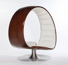At the end of a long day, there is nothing better than a warm hug. The Hug chair from designer Gabriella Asztalos is meant to replicate that comforting feeling - as best as a piece of furniture can, anyway.