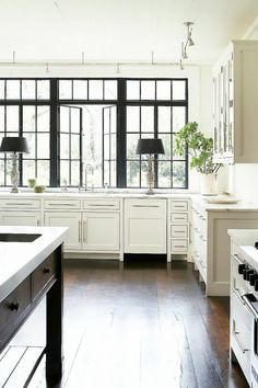 Link to ultimate black steel window uses from modern to traditional
