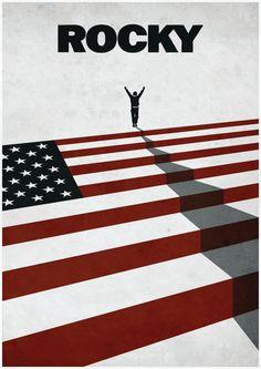 Rocky-film Poster filmposter minimalistische Print origineel