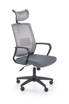 ARSEN obrotowy fotel pracowniczy popiel - producent Halmar Teak, Chair, Furniture, Design, Home Decor, Products, Dots, Decoration Home, Room Decor